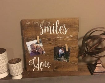 So Many Smiles Picture Display