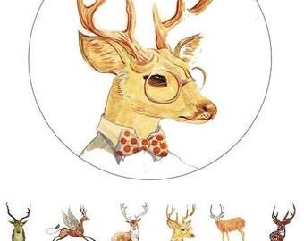 Oh my Deer ! It's Wearing a Bowtie Washi Tape