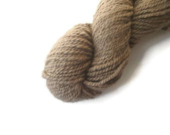 Afghan Cashmere, Pure Cashmere Yarn, Light Brown, Worsted Weight, Heavy Worsted Aran weight From the Mountain, Tan, Beige, Undyed Natural
