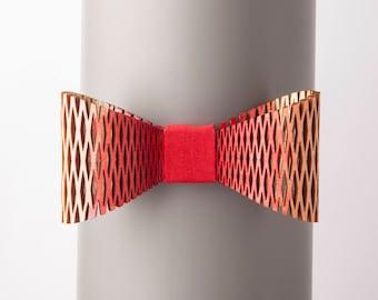 Archipelagos Red Degrade Bow Tie