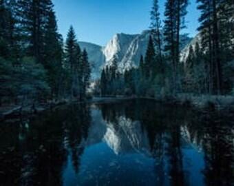 Yosemite Reflection Photograph
