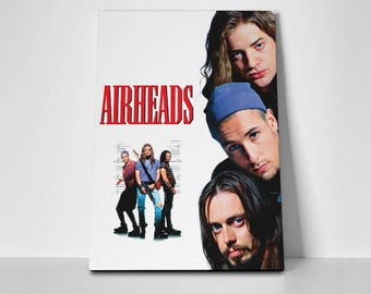 Airheads Poster or Canvas | Limited Edition Airheads Movie Poster or Canvas