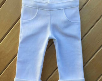 18 inch doll white jeans