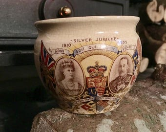 Candle in a coronation cup