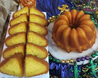 The Vieux Carre' (151 Rum Cake)