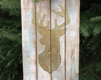 wall decorative painting, DEER