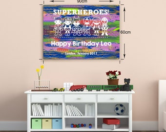 Super Heroes Personalized Gift. Super Heroes Birthday Present. Super Heroes Party activity. Super Heroes Birthday Gift.