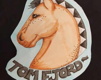 Custom Fursona Badge