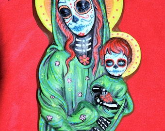 Day of Dead Mother and Child
