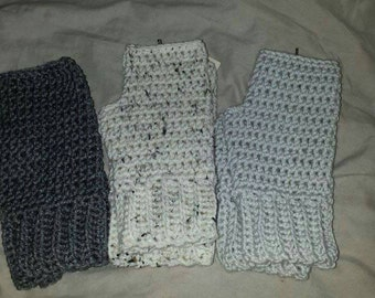 Handmade fingerless gloves,  fingerless gloves
