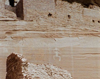 "Navajo Ruins Photograph Canyon de Chelly 12"" x 24"""