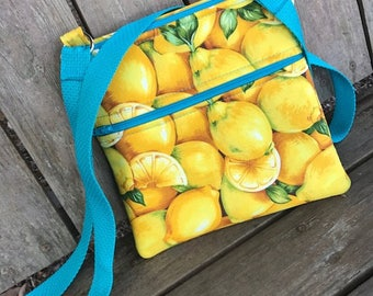 When Life Gives You Lemons Crossbody- Fresh Squeeze Collection
