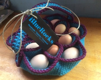 Crochet Egg Basket