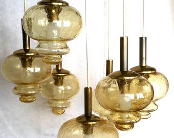 German ceiling lamp 1960/1970