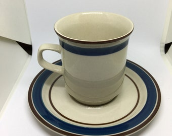 Japanese Stoneware Teacup Set