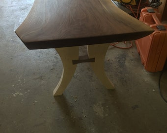 Black Walnut and Maple Inlay Coffee Table