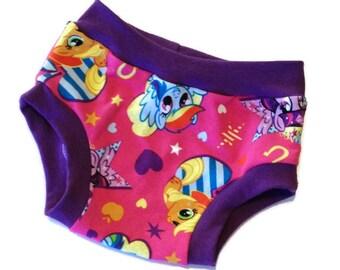 My Little Pony Undies - Size 2/3 - Toddler Underwear - Ready to Ship - Scrundies