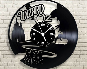 Vinyl disk watch the wizard of OZ the wizard of oz handcrafted