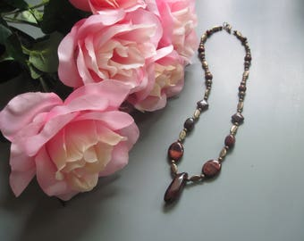Stone Medicine Jewelry Red Tiger Eye