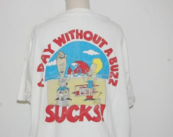 SUPER RARE Vintage Beavis and Butthead T Shirt
