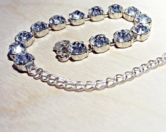 Swarovski Crystal tennis from 8 mm