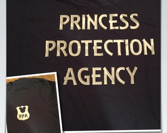 Princess Protection Agency big brother dad Disney tee