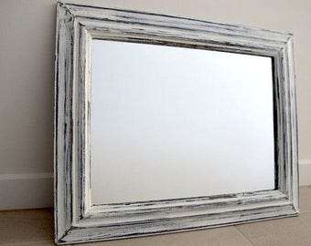 Rustic shabby chic mirror