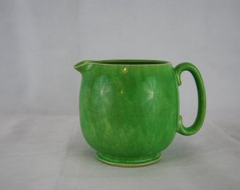 Green Sadler Jug