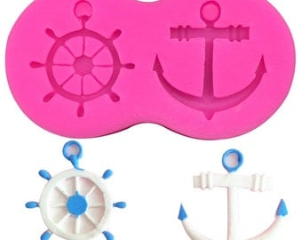 Rudder & Anchor Silicone Mold