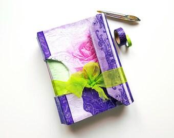 Handmade Vintage Junk Journal (Diary, Album, Guestbook, Babybook,  Photoalbum, Art Journal, Notebook, Planner, Scrapbook)