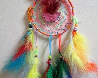 Rainbow Butterfly Dream Catchers