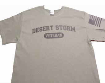 DESERT STORM VETERAN Graphic T-shirt