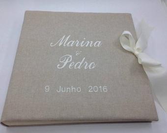 Wedding photo album customized/Personalized wedding photo album