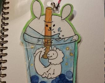 Costom bubble tea badge