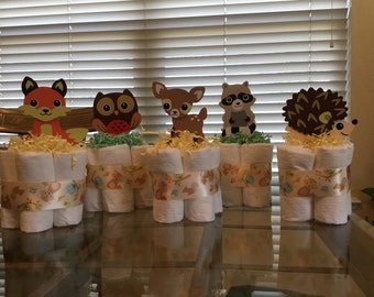 Little critter mini diaper cake