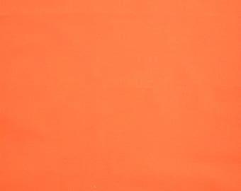 Orange Fabric - Orange Cotton - Bright Orange Fabric - Orange Fat Quarter - Solid Orange Fabric - Orange Solid - Fabric Stash Builder