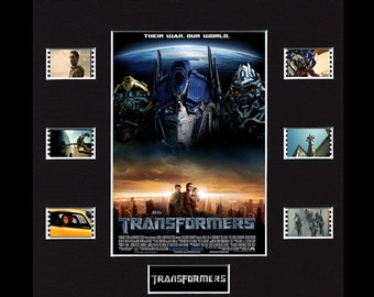 Transformers Framed and Mounted Genuine 35mm Film Cell Display