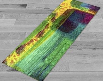 Colorful Abstract 1 - Yoga Mat, Pilates Mat