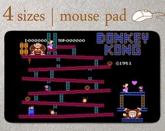 NES Mouse Pad Donkey Kong Mousepad Mouse Pad Mouse Mat Custom Mouse Pad Computer 8 bits Office Mouse Pad Desk Mouse Pad Nintendo
