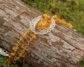 """First"" bracelet - amber Baltic"
