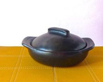 Clay Cookware Paella Pan / Stew Pan / Cookware / Casserole / Kitchen & Dinning / Black Cookware