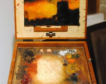Rembrandt Posterized Portrait