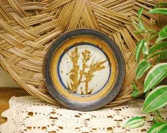 Decorative Studio Pottery Plate