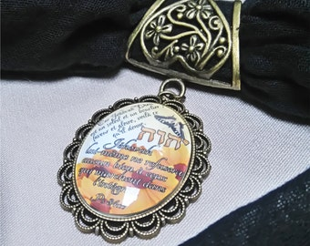 Scarf jewel Memory