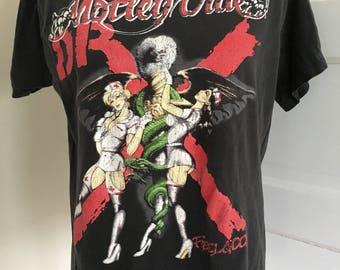 Vintage Motley Crue tour tee