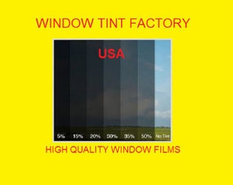 """professional window tint by the roll 50%  20"""" 24"""" 30"""" 36"""" 40"""" 60"""" x 10 feet"""