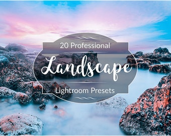 Professional Landscape Lightroom Presets