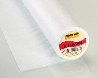 Fusible Interlining H 180 Vlieseline Freudenberg iron iron on clothing white