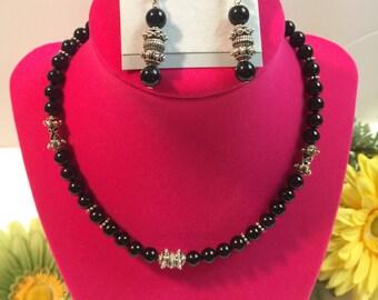 SALE! Black Onix Necklace