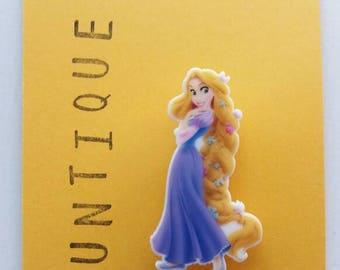Rapunzel inspired brooch